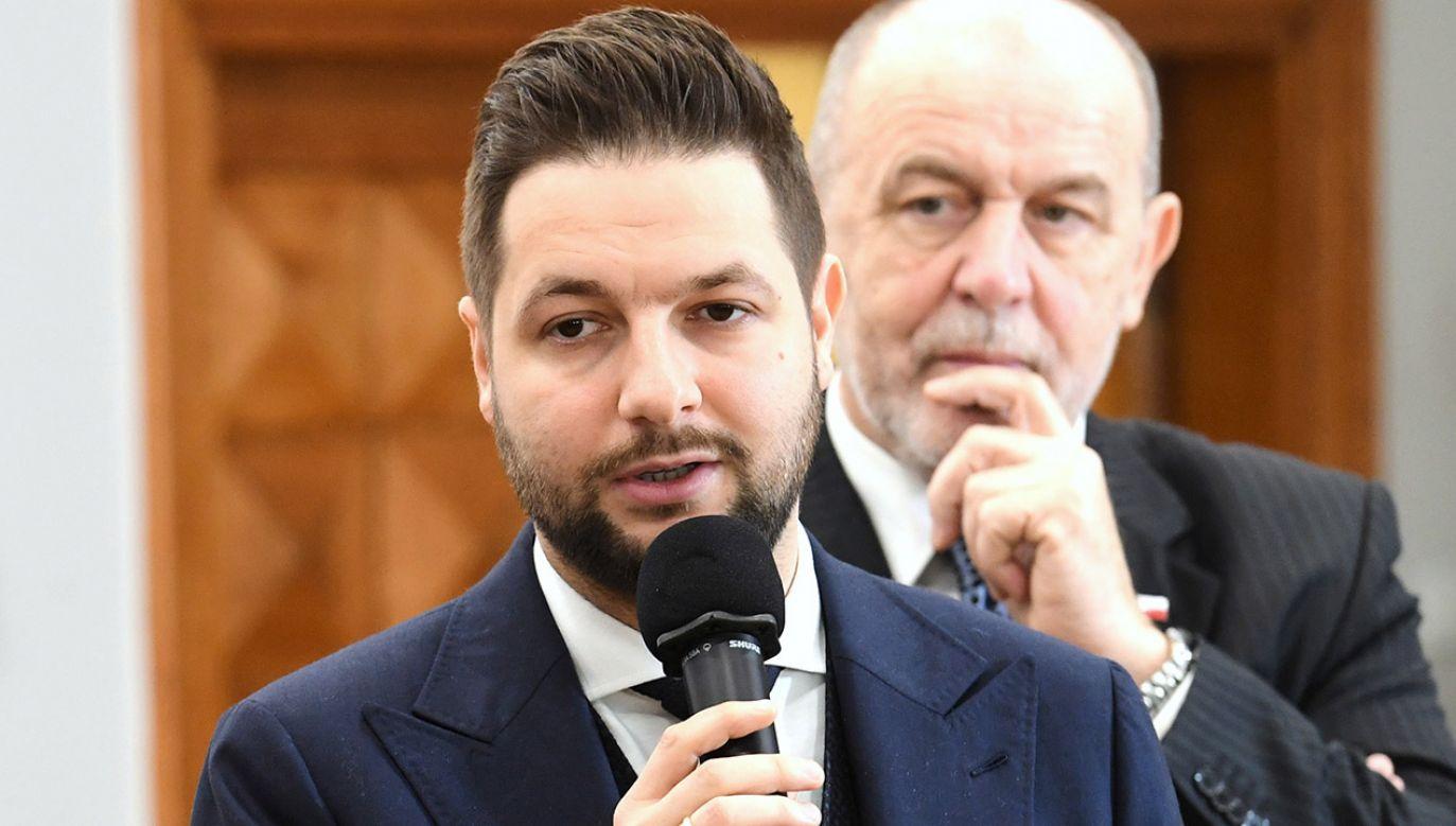 Wiceminister sprawiedliwości Patryk Jaki (fot. arch.PAP/Piotr Nowak)