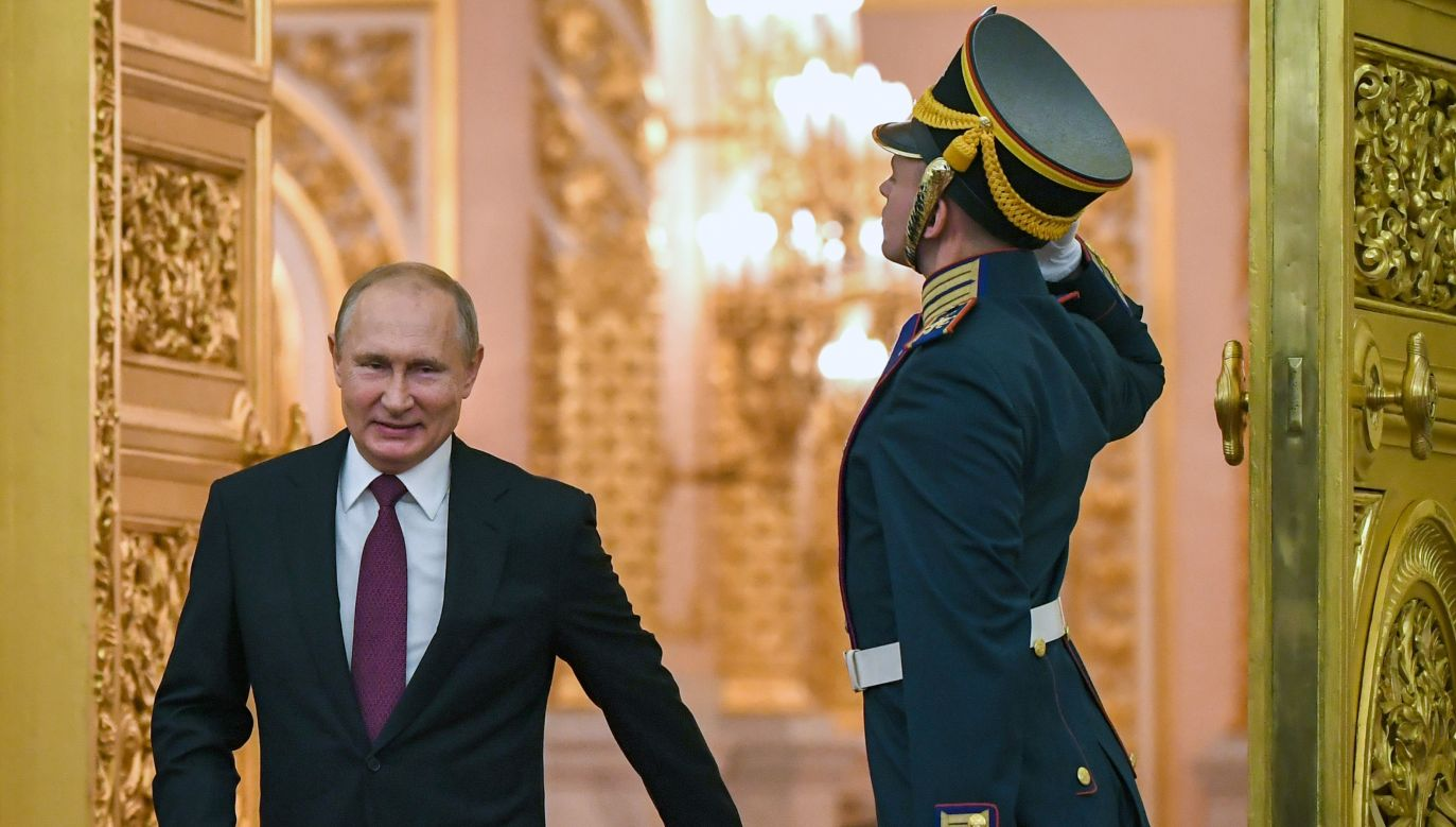 Władimir Putin (fot.PAP/EPA/YURI KADOBNOV / POOL)