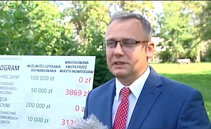 Kandydat Stachowiak stawia ratuszowi zarzut nie wykorzystania pieniędzy z WFOŚiGW