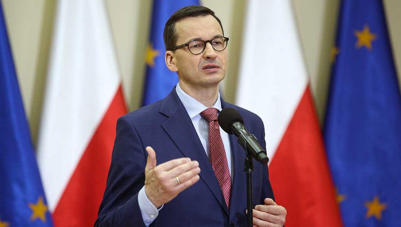 Uroczystości przed Pomnikiem Bohaterów Getta w Warszawie (fot. PAP/Łukasz Gągulski)