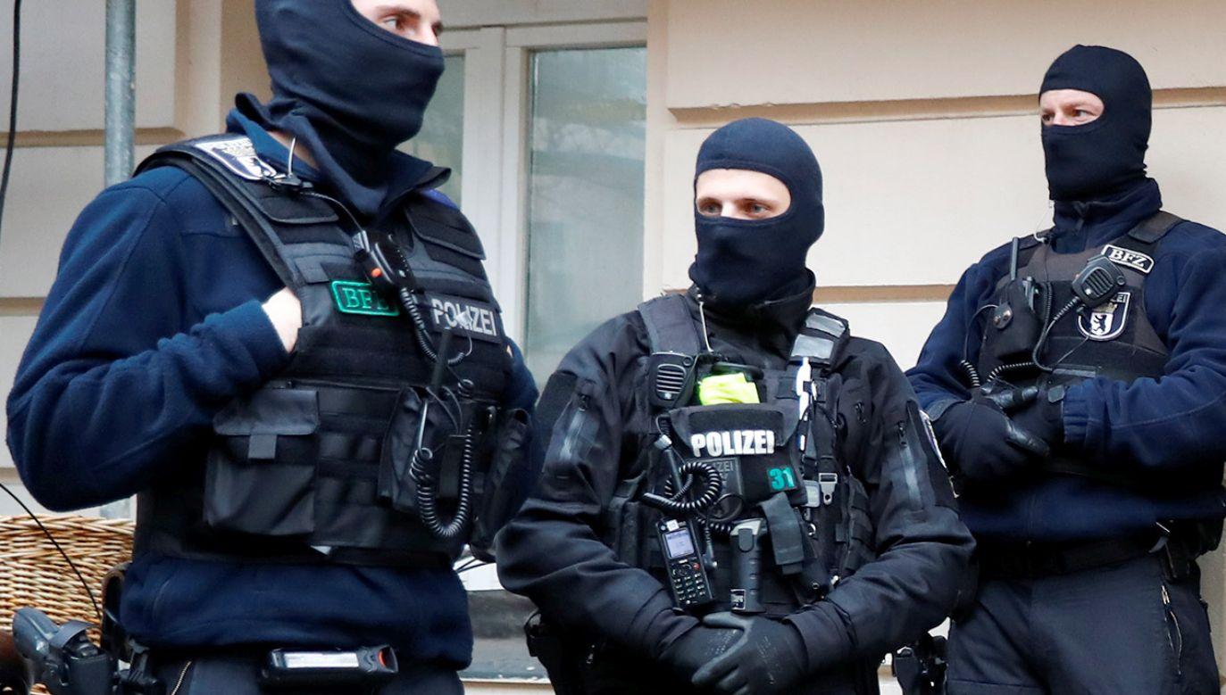 W akcji bierze udział ponad pół tysiąca policjantów (fot. REUTERS/Fabrizio Bensch, zdjęcie ilustracyjne)