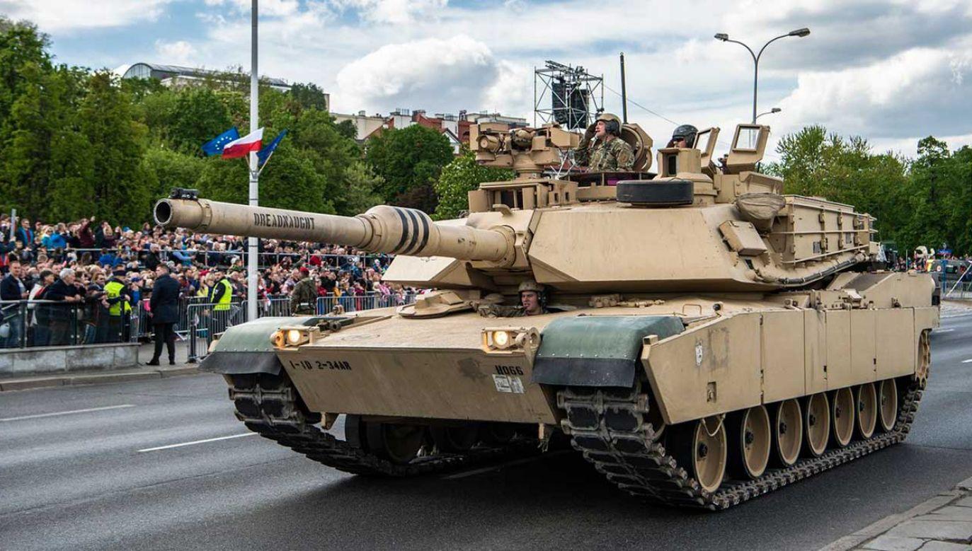 """Prezes PiS w wywiadzie dla """"Gazety Polskiej"""" o obecności wojsk USA w Polsce (fot. TT/Ministerstwo Obrony Narodowej)"""