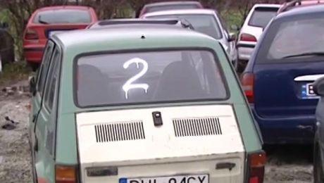 wraki samochodów straszą we Wrocławiu