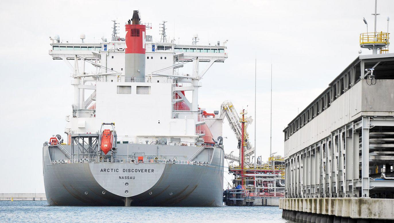 Unijni urzędnicy uznali, że projekt przyczyni się do zapewnienia bezpieczeństwa dostaw gazu (fot. arch.PAP/Marcin Bielecki)