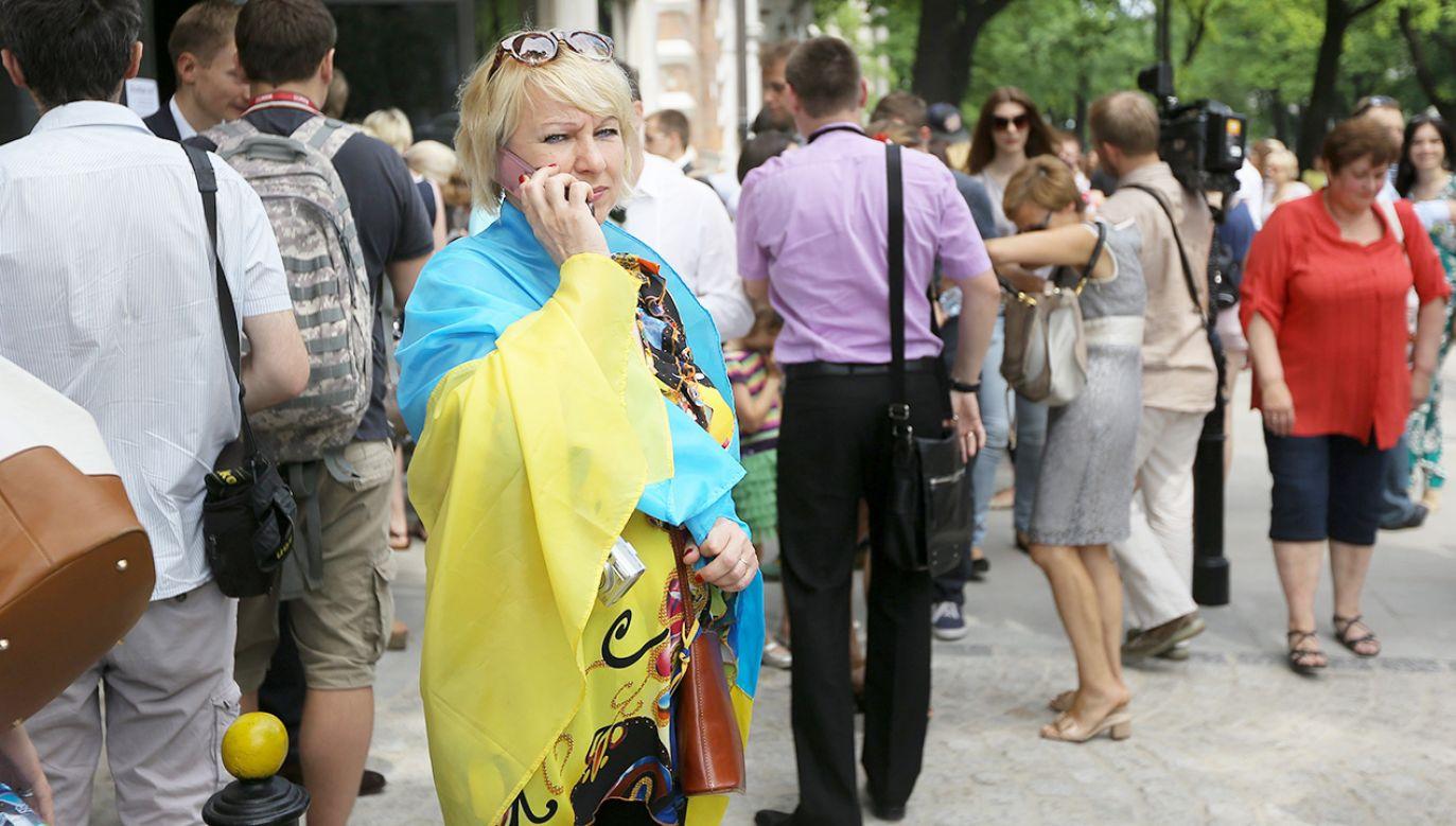 W raporcie zwrócono uwagę, że 74 proc. Ukraińców nie chce zostać w Polsce na stałe (fot. arch.PAP/Paweł Supernak)