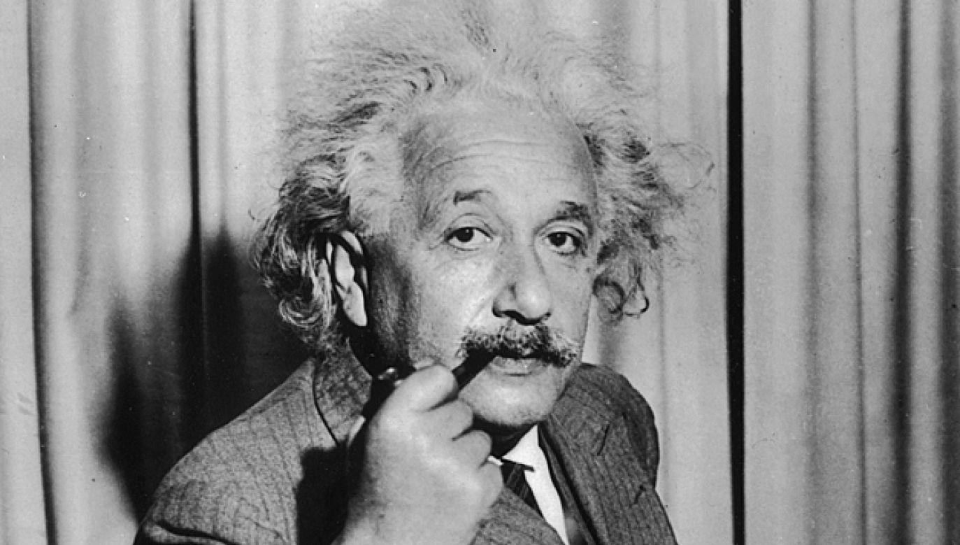 Albert Einstein stworzył notatki podczas podróży do Japonii (fot. Keystone/Getty Images)