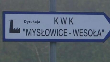Wstrząs w kopalni w Mysłowicach