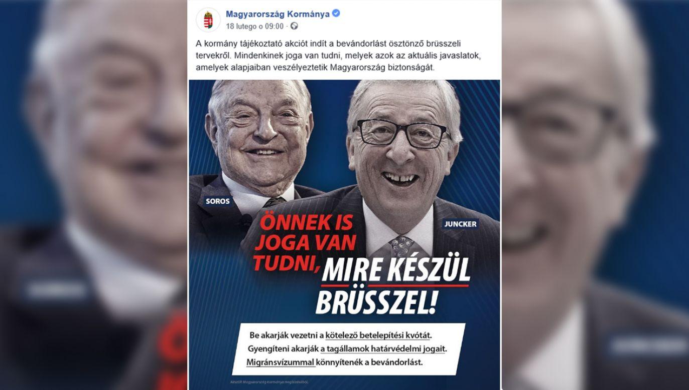 Macie Państwo prawo wiedzieć, co szykuje Bruksela – ostrzega węgierski rząd (fot. FB/Magyarország Kormánya)