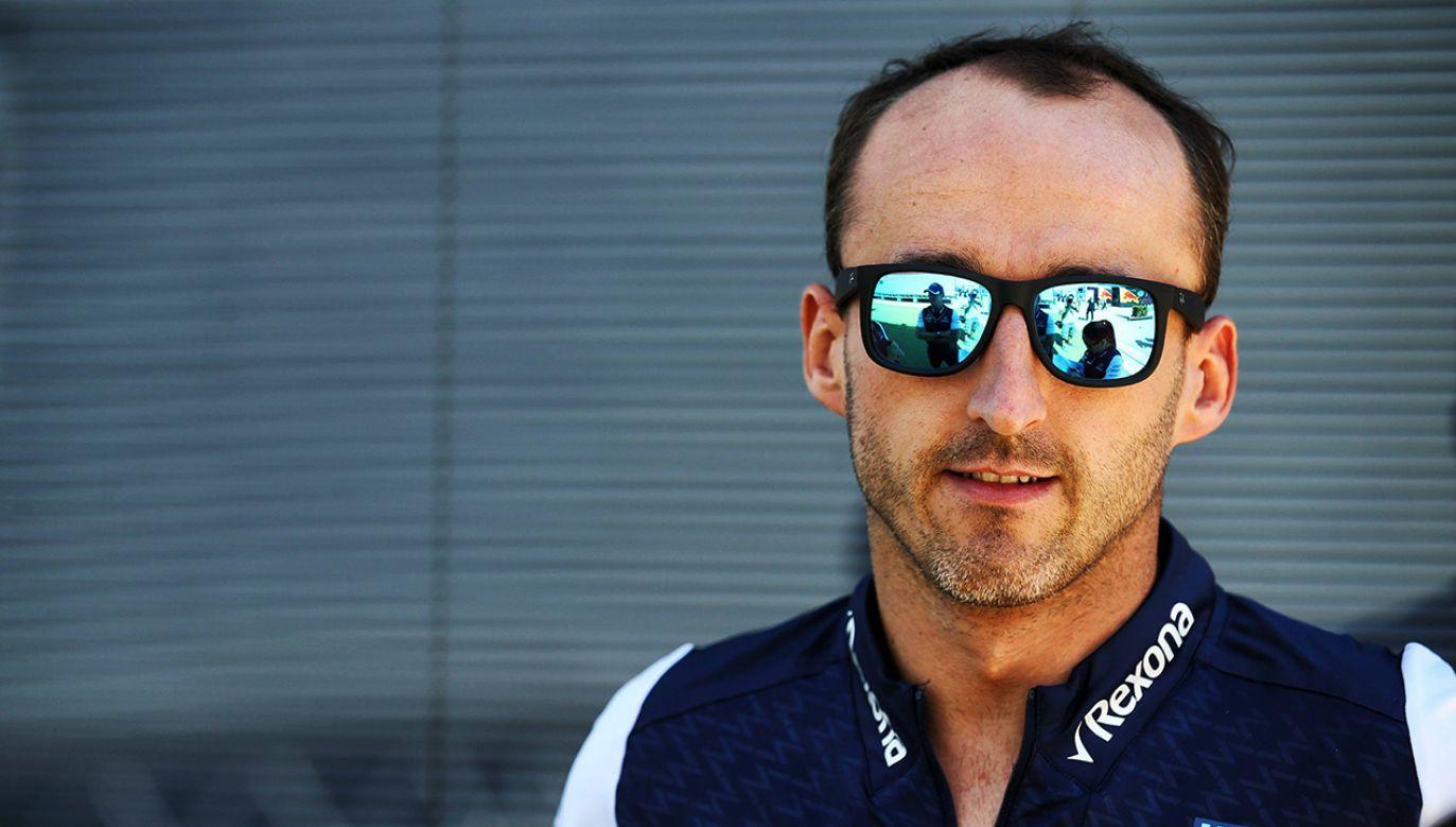 W tym sezonie Kubica jest kierowcą rezerwowym Williamsa (fot. PAP/PA/XPB Images/Press Association Ima)
