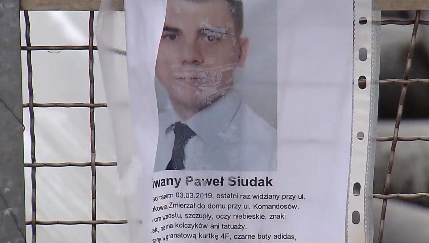 Mężczyzna zaginął dwa tygodnie temu (fot. TVP)