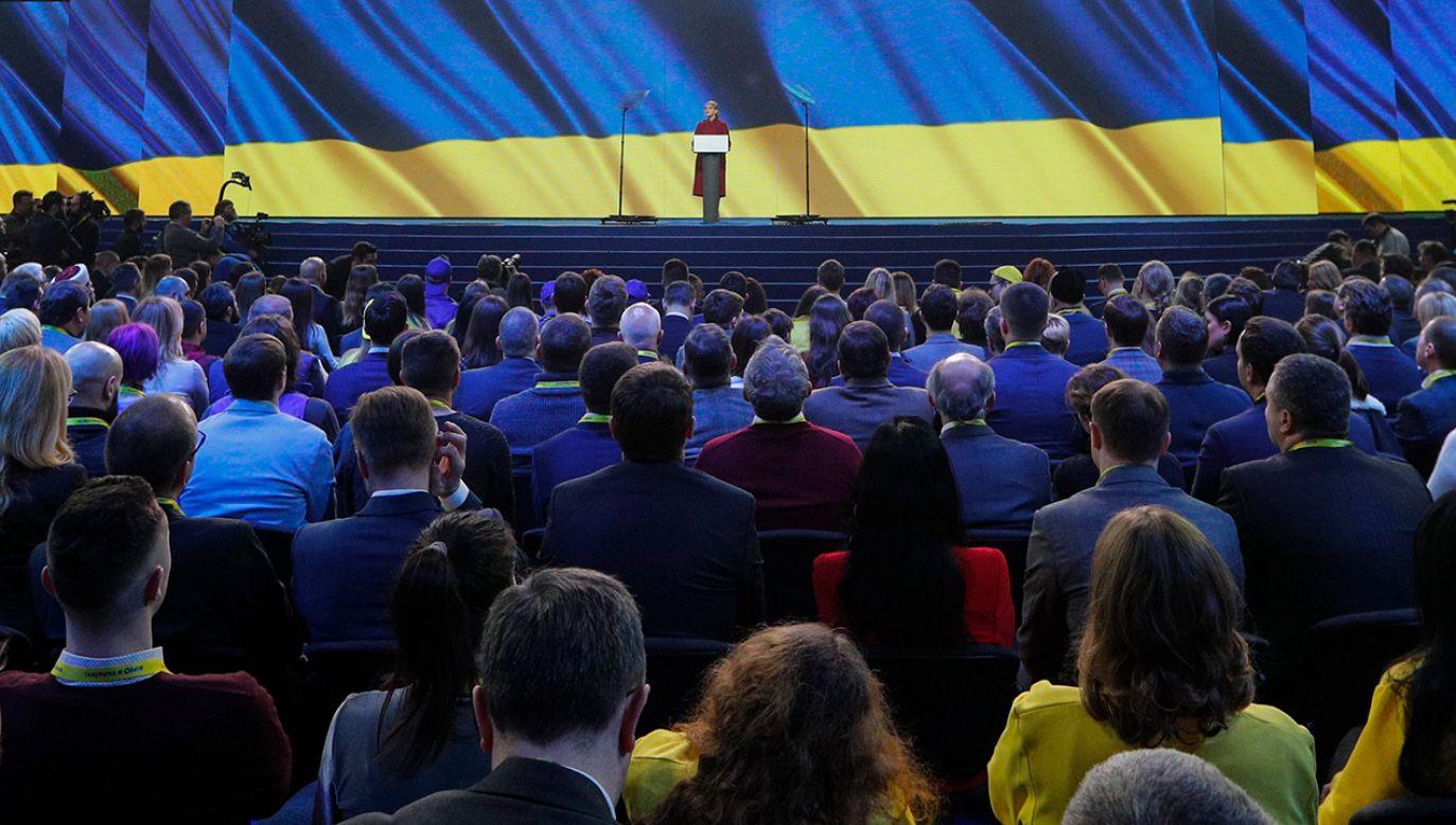 Członkowie struktury mieli kupować głosy dla Julii Tymoszenko (fot. arch. PAP/SERGEY DOLZHENKO)