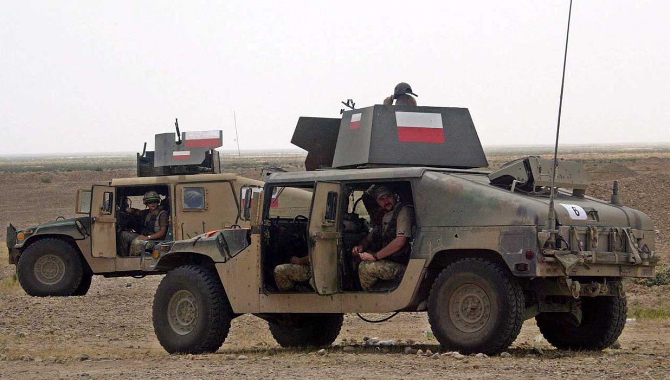 Obecnie polscy żołnierze wojsk specjalnych szkolą irackie siły w ramach koalicji zwalczającej Państwo Islamskie (fot. arch. PAP/EPA/ALI HAIDER)