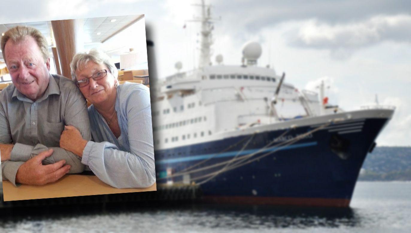 Clarke'owie zostali zatrzymani na pokładzie wycieczkowca MS Marco Polo (fot. FB/Wiki/Luca Riva)