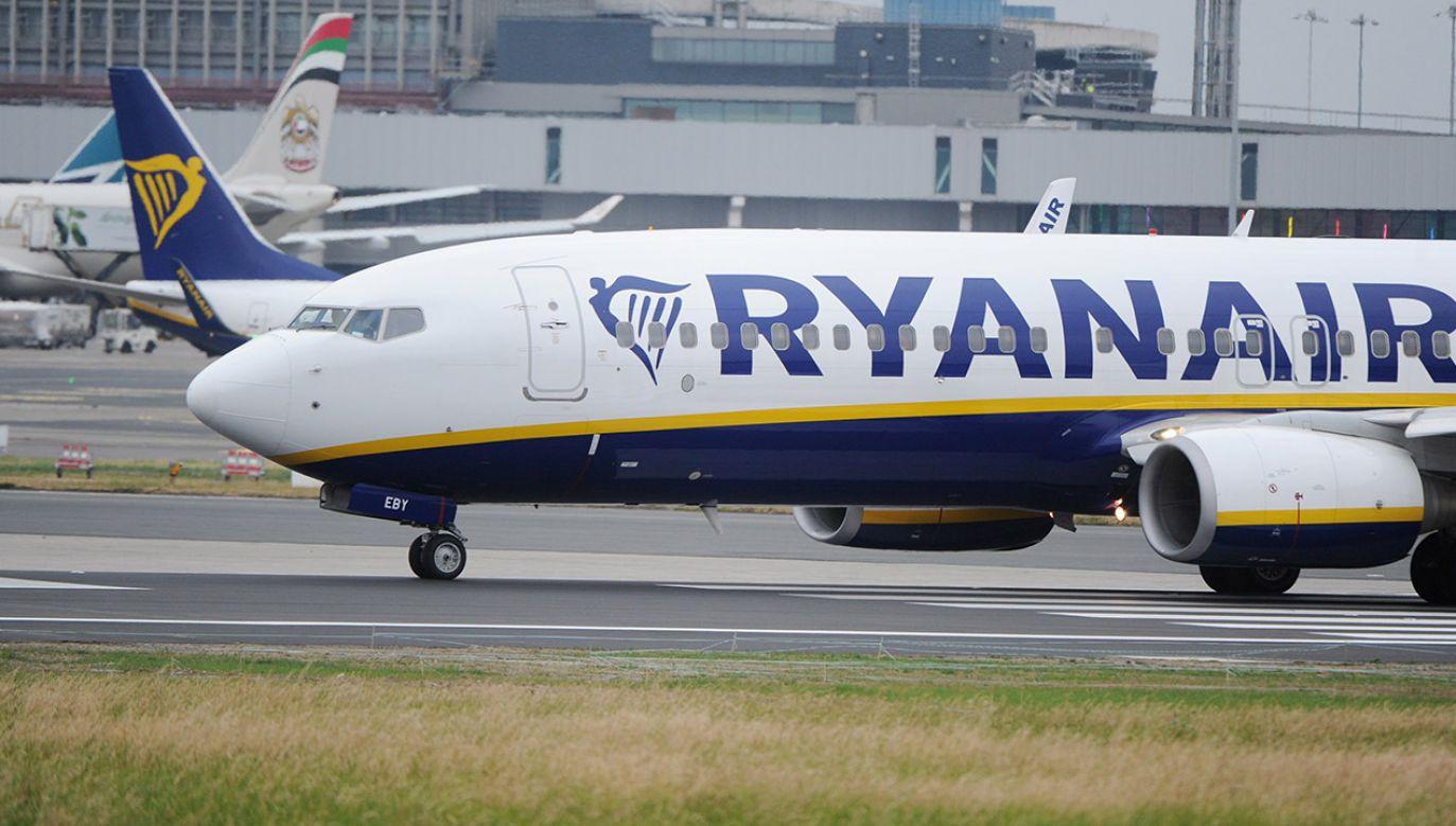 Powodem jest strajk personelu pokładowego w Hiszpanii, Portugalii i Belgii (fot. PAP/EPA/STR)