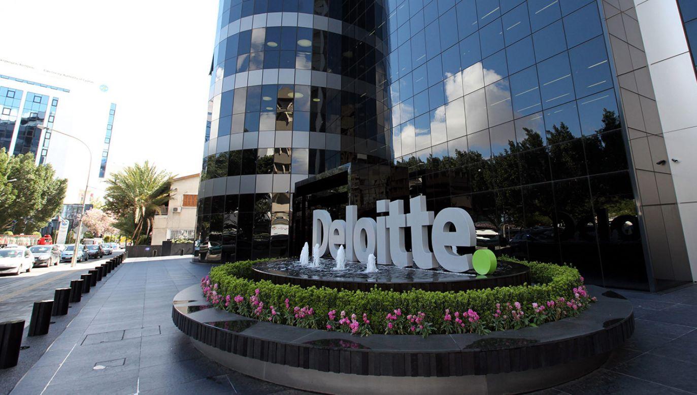 Deloitte przekonuje, że wszystkie czynności związane z rewizją finansową przeprowadził zgodnie z zasadami sztuki (fot. PAP/EPA/KATIA CHRISTODOULOU)