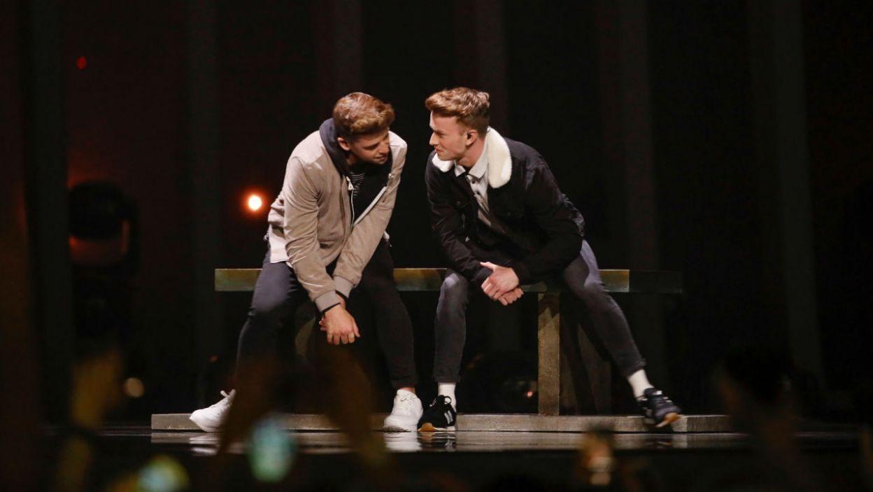 """Irlandia postawiała na oryginalną choreografię. Czy widzom spodobał się utwór """"Together""""? (fot. Andreas Putting/eurovision.tv)"""