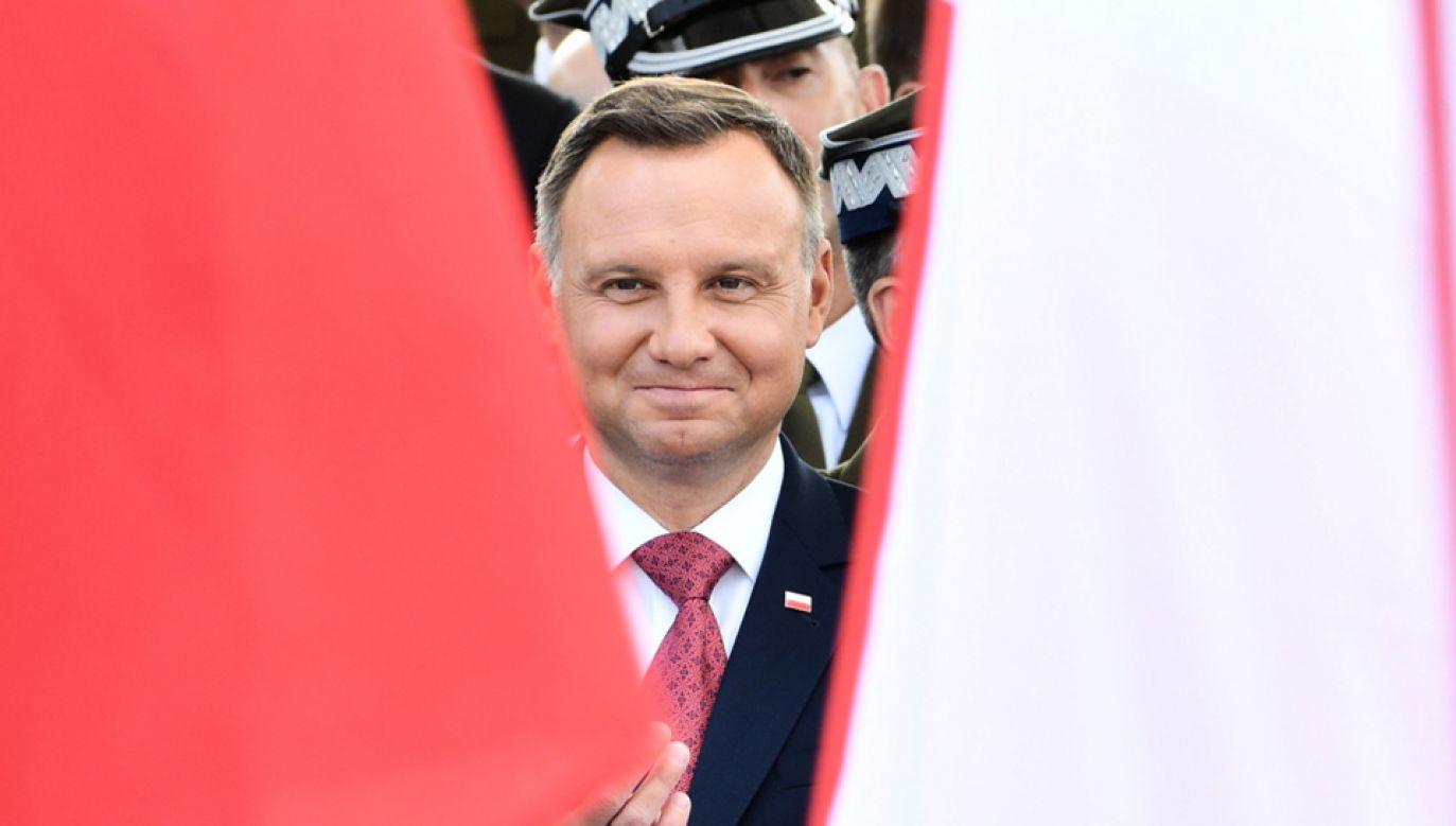 Prezydent Andrzej Duda zawetował zmiany w ordynacji wyborczej do PE (fot. PAP/Jacek Turczyk)