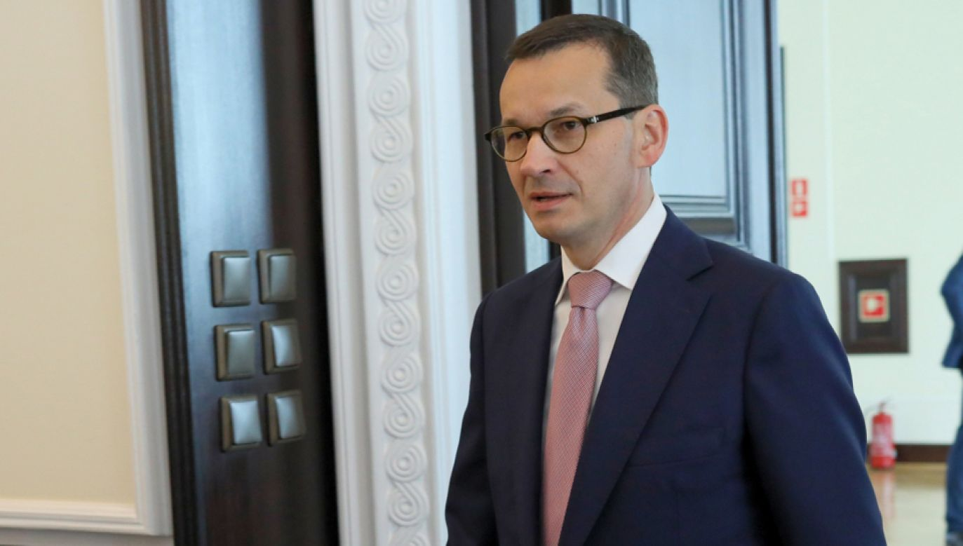 Premier Mateusz Morawiecki (fot. PAP/Leszek Szymański)