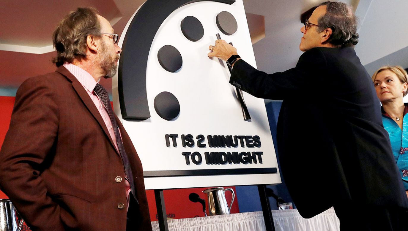 Początkowym ustawieniem zegara – z roku 1947 – było za siedem dwunasta (fot. REUTERS/Leah Millis)