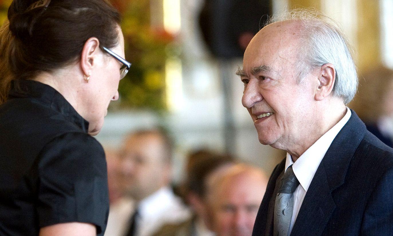 W 2009 r. aktor otrzymał nagrodę dla wybitnych warszawiaków, ludzi kultury, działających na rzecz rozwoju stolicy (fot. TVP)
