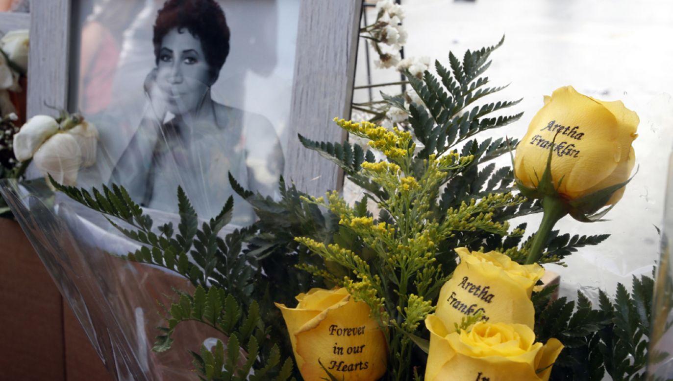 Aretha Franklin w ponad 50-letniej karierze zdobyła 18 nagród Grammy (fot. PAP/EPA/MIKE NELSON)