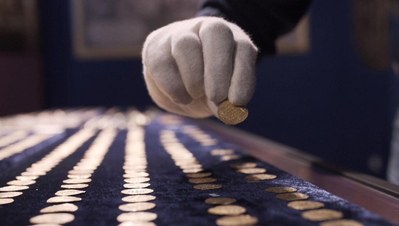 Zabytkowy skarb znajduje się w Muzeum Okręgowego im. Leona Wyczółkowskiego w Bydgoszczy (fot. TVP info)