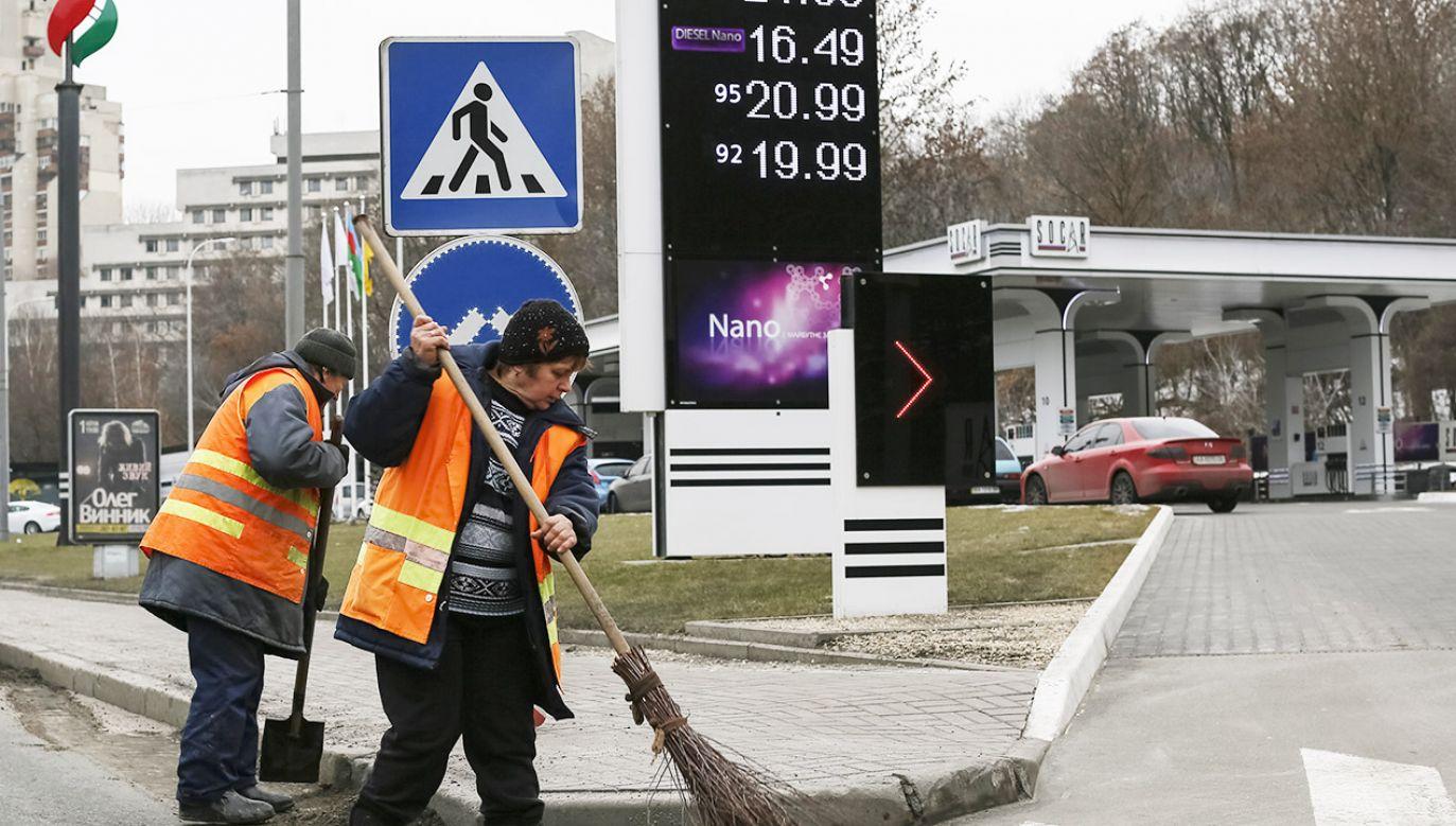 Z danych rosyjskich służb celnych wynika, że Rosja dostarcza na Ukrainę niewielkie ilości ropy (fot. REUTERS/Gleb Garanich)