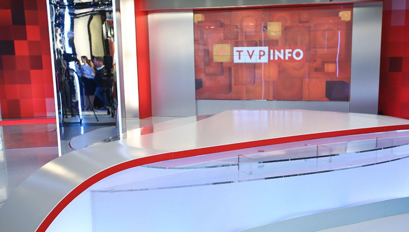 Rekordową średnią oglądalność dnia stacja TVP Info miała 6 lipca – 452 tys. widzów (fot. arch.PAP/Rafał Guz)