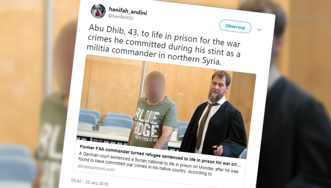 Islamista torturował uprowadzonych, żeby wymusić okup na rodzinach. Resztę życia spędzi w więzieniu (fot. TT/hanifah_andini)