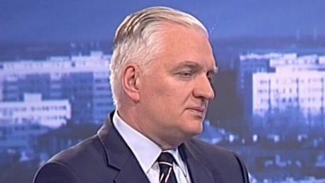 Wicepremier Jarosław Gowin, 26.05.17