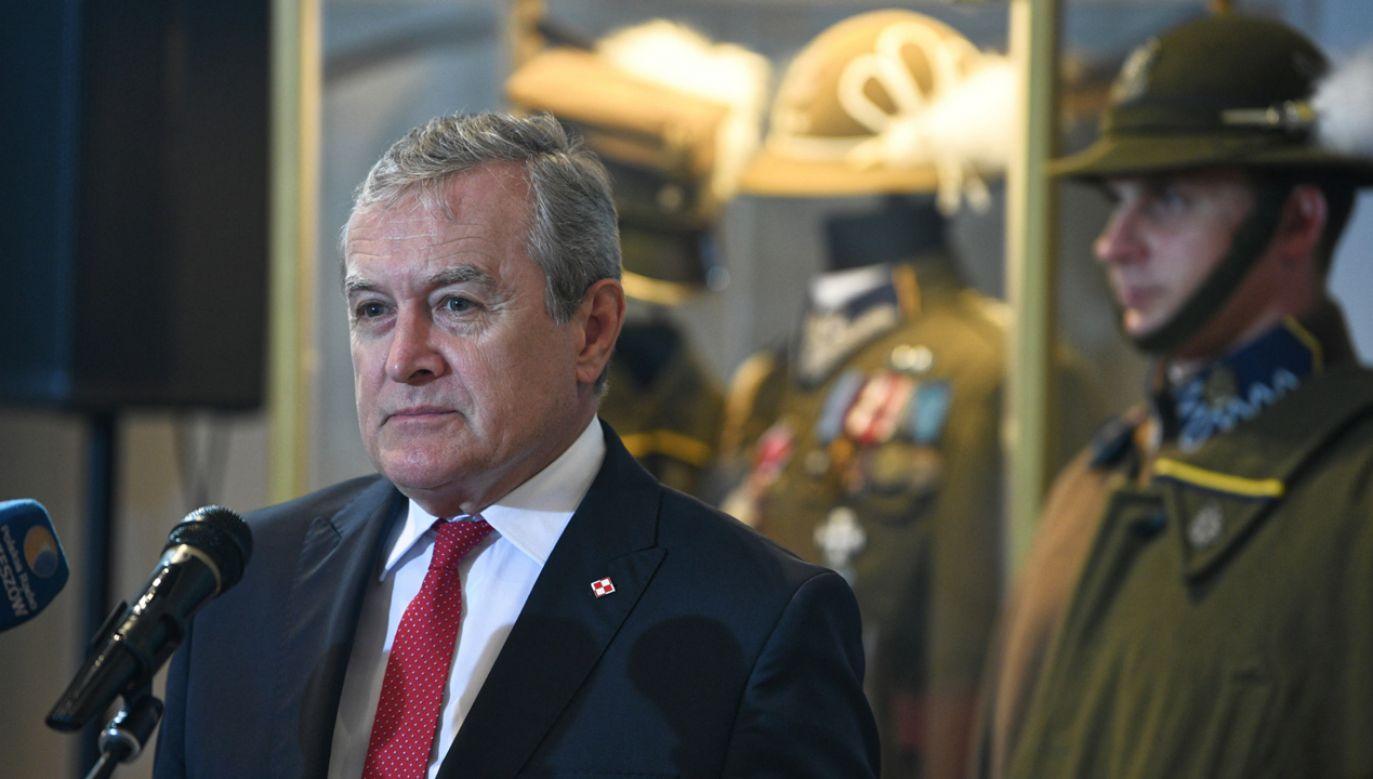 Minister kultury Piotr Gliński w Muzeum Narodowym Ziemi Przemyskiej (fot. PAP/Darek Delmanowicz)