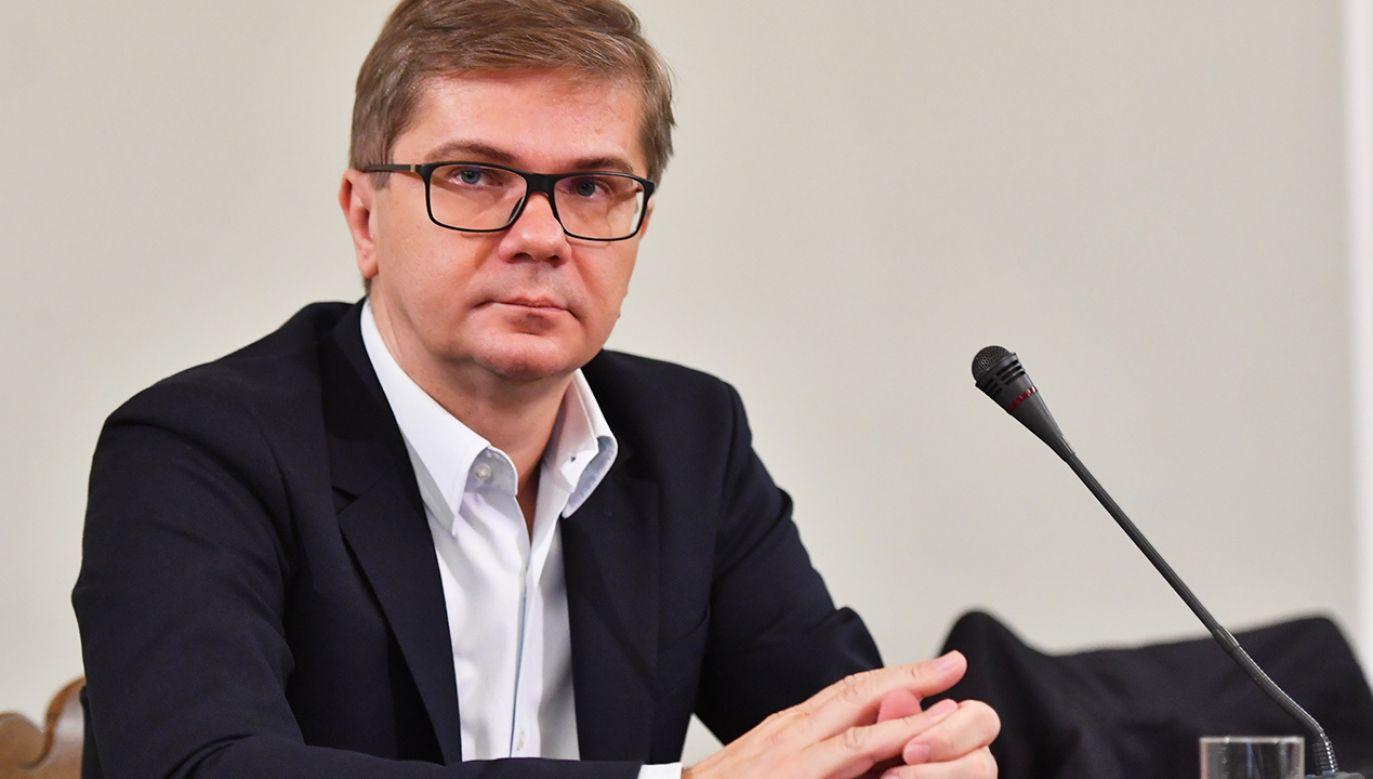 Latkowski zarzuca sądowi w Gdańsku brak bezstronności (fot. arch. PAP/Bartłomiej Zborowski)