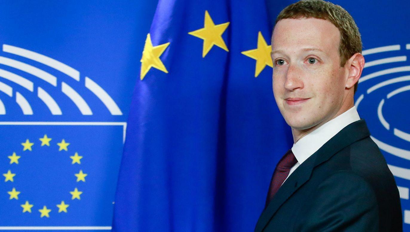 Mark Zuckerberg (fot. PAP/ EPA/STEPHANIE LECOCQ)