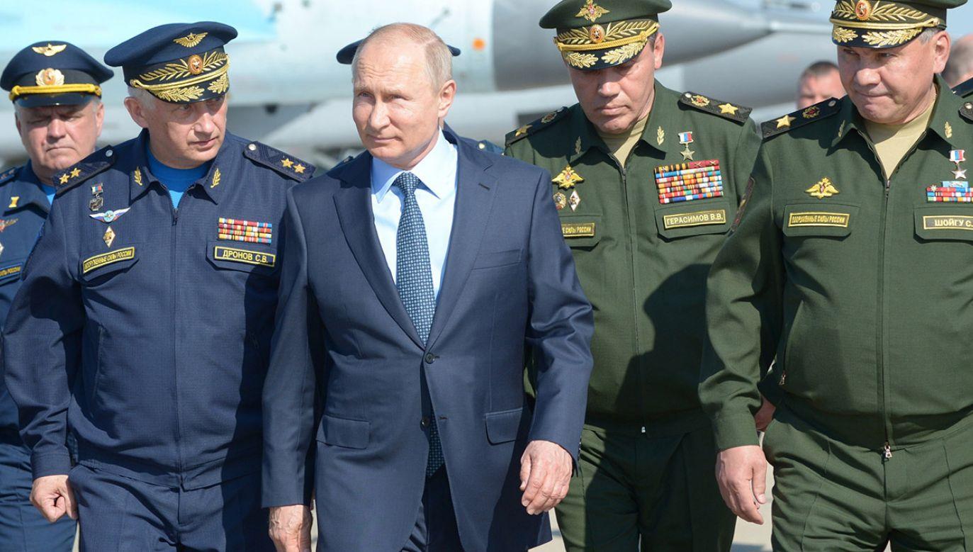Niejasne jest nawet to, jakie Unia Europejska chce mieć relacje z Moskwą – uważa ekspertka Judy Dempsey (fot. PAP/EPA/ALEXEY NIKOLSKY / SPUTNIK / KREMLIN POOL)