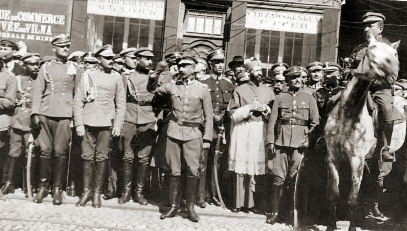 Polish soldiers who captured Minsk during the Polish-Soviet war. Photo: Central Military Archive/Public Domain