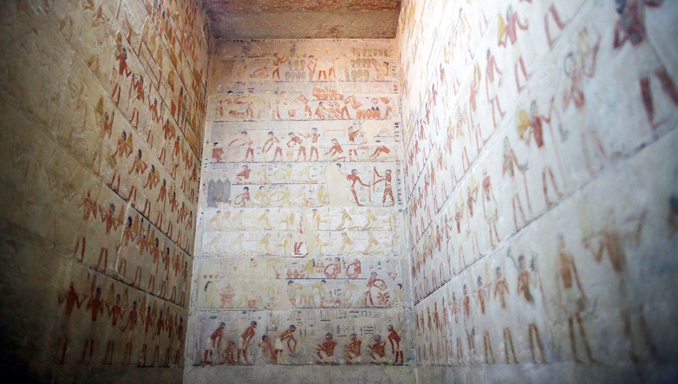 Odkrycia dokonał zespół egipskich archeologów (fot. PAP/EPA/KHALED ELFIQI)