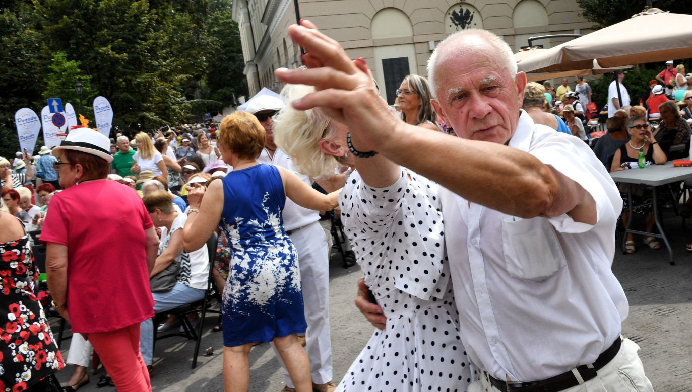 Senior citizens at the annual parade in Warsaw. Photo: PAP/Jacek Turczyk