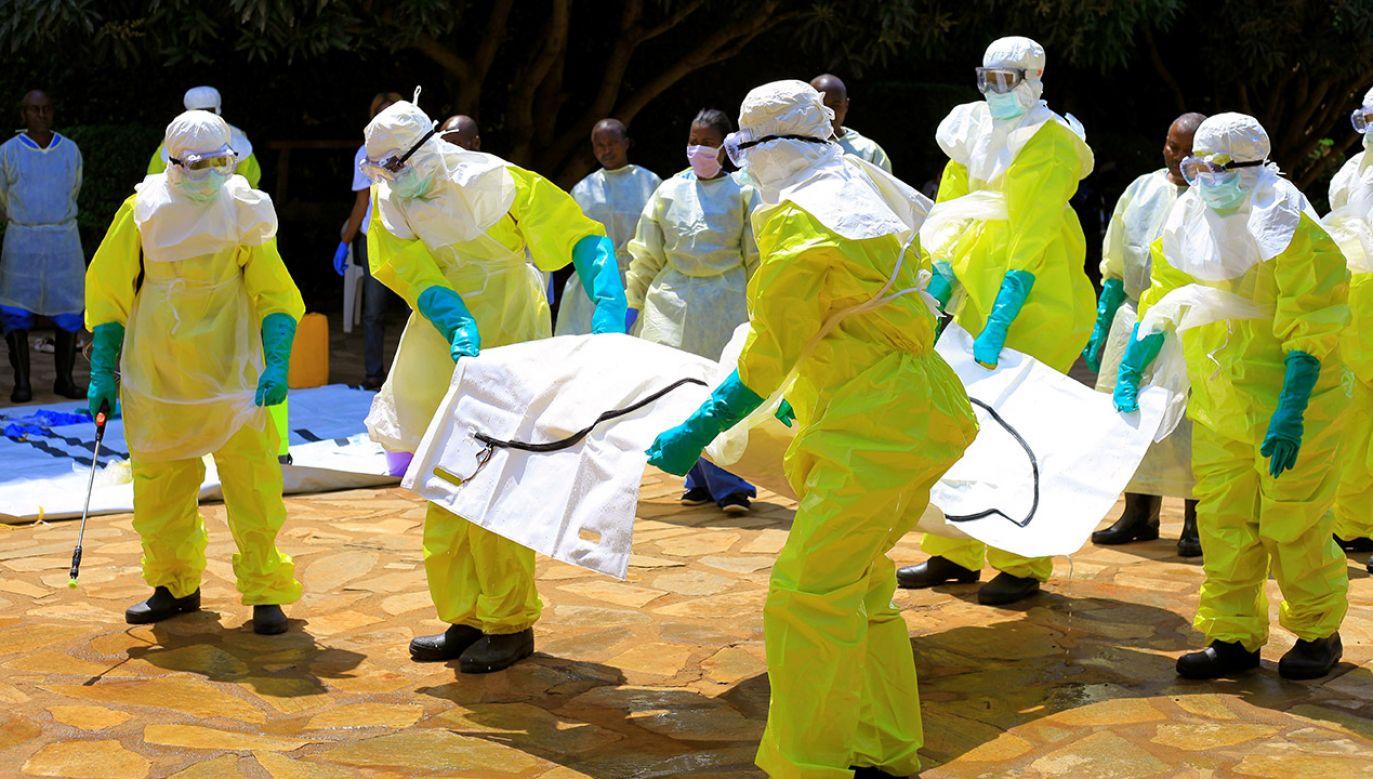 Ebola wywołuje groźne epidemie w Afryce (fot. REUTERS/Samuel Mambo)