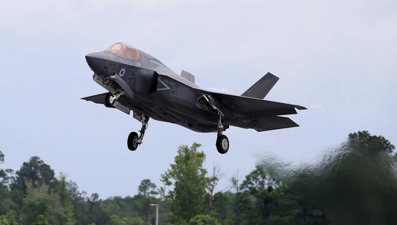 F-35 (fot. PAP/PA/Peter Byrne)