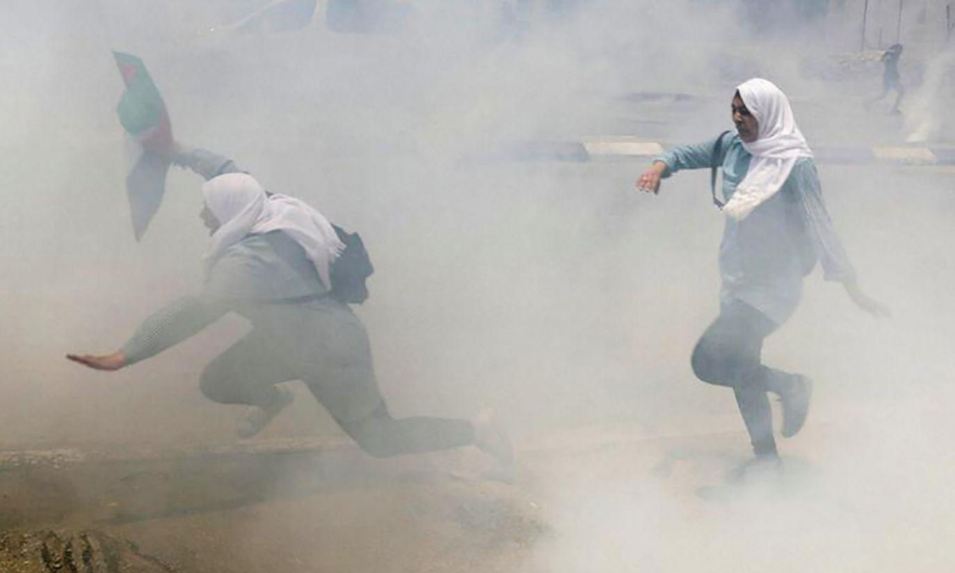 Nakba na Zachodnim Wybrzeżu (fot. REUTERS/Ammar Awad)