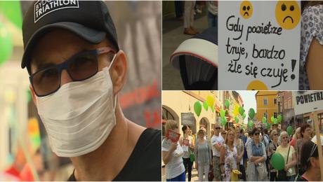 Marsz antysmogowy: mieszkańcy chcą czystego powietrza