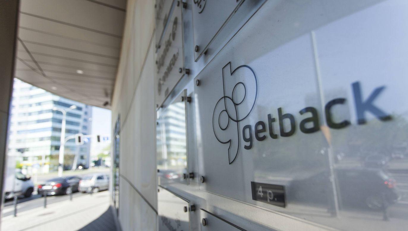 GetBack was one of the largest Polish debt management and collection market companies. Photo: PAP/Aleksander Koźmiński