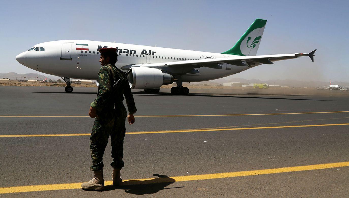 Linie Mahan Air powstały w 1992 roku jako pierwszy prywatny przewoźnik lotniczy w Iranie (fot. Sinan Yiter/Anadolu Agency/Getty Images)