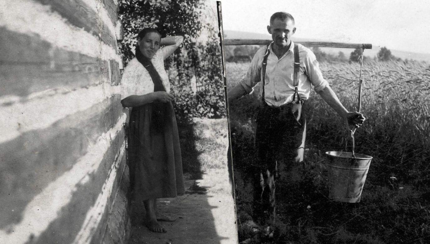 Józef Ulma był znanym utalentowanym sadownikiem, pszczelarzem, hodował też jedwabniki. O 12 lat młodsza żona Wiktoria zajmowała się domem i dziećmi (fot. Muzeum Polaków Ratujących Żydów)