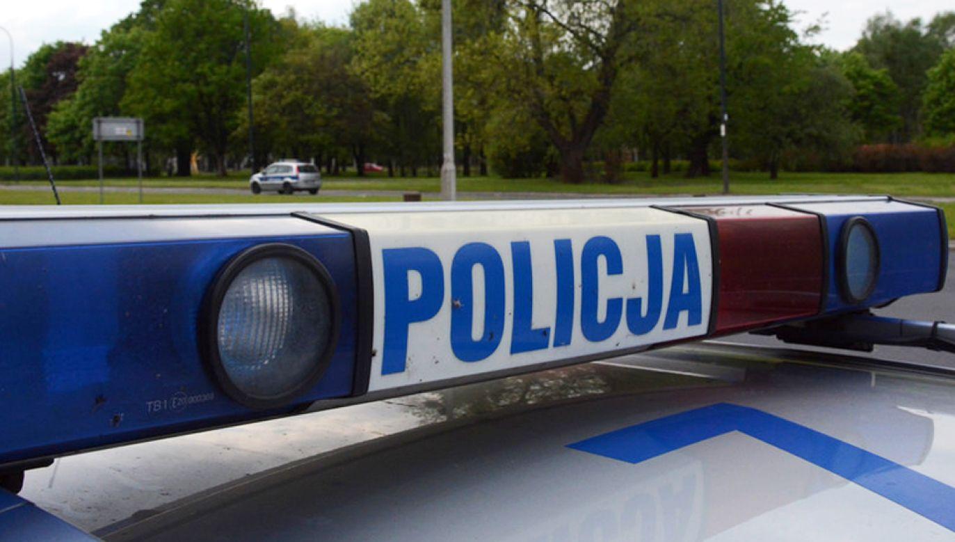 W Staniszczach Małych policja zatrzymała do kontroli osobową hondę (fot. policja.pl)