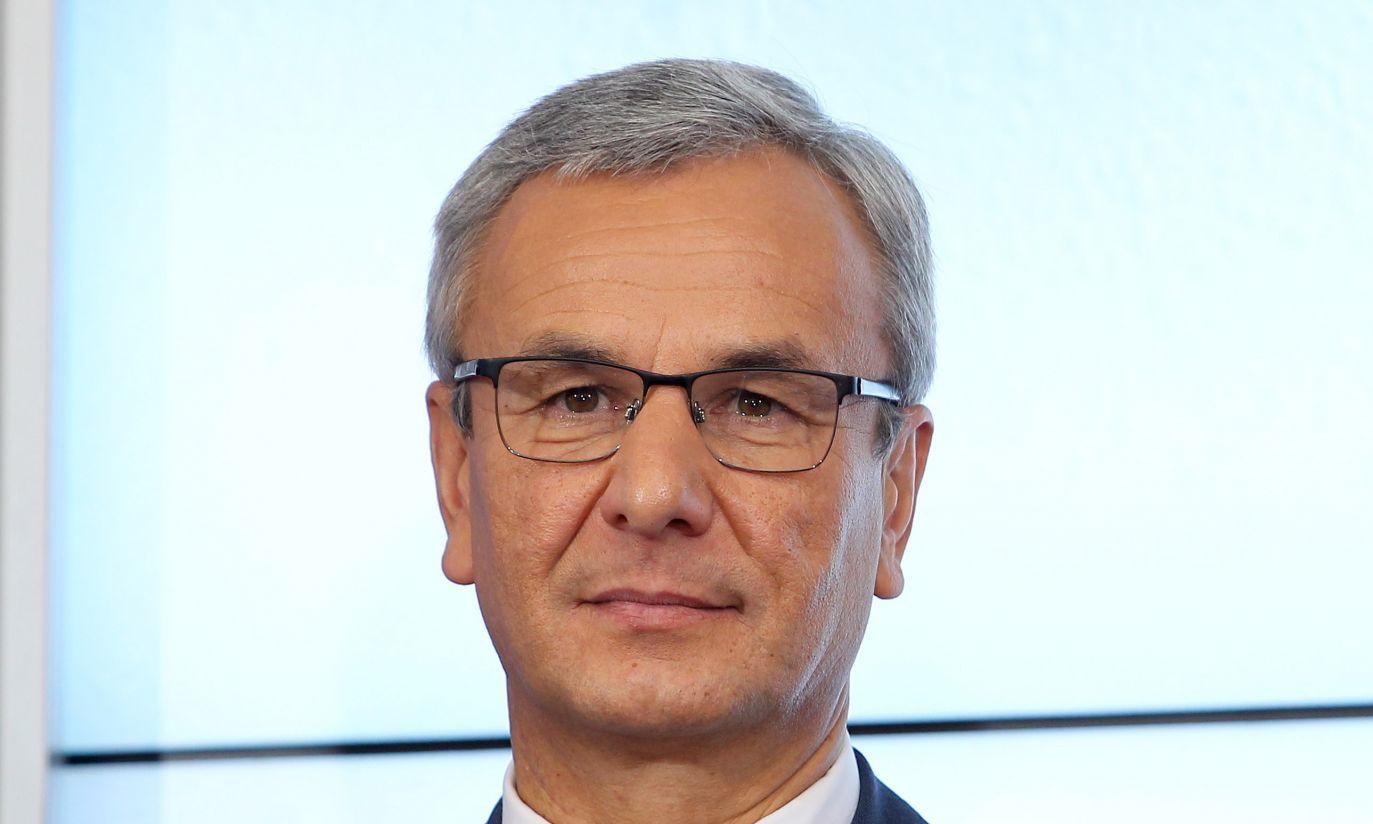 Poseł PO Andrzej Biernat zastąpił Joannę Muchę w Ministerstwie Sportu i Turystyki (fot. PAP/Radek Pietruszka)