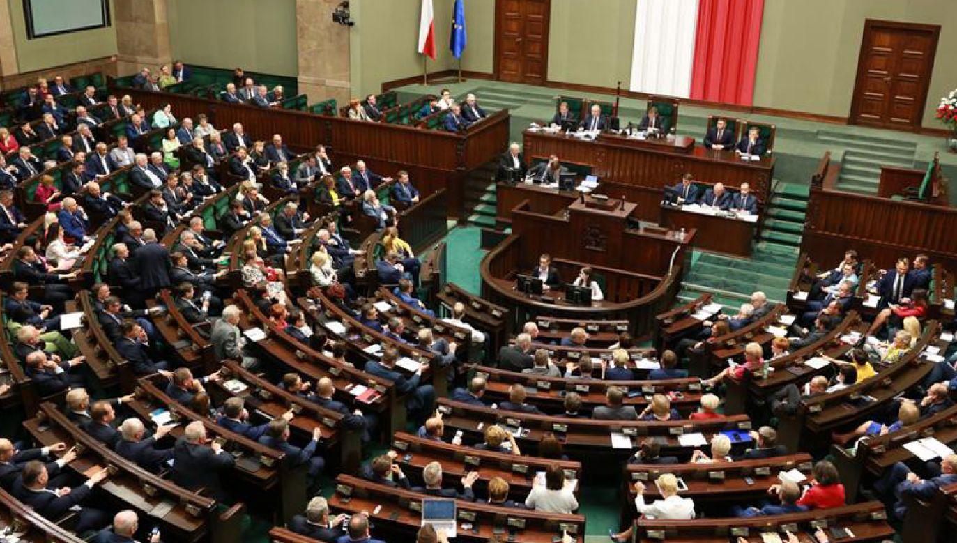 Sejm opuści prawdopodobnie 18 posłów wybranych do PE (fot. Kancelaria Sejmu/Krzysztof Białoskórski)