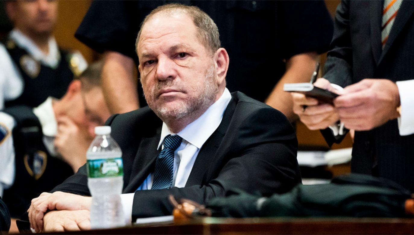 Harvey Weinstein zapewnia, że jest niewinny (fot. PAP/EPA/STEVEN HIRSCH / POOL)