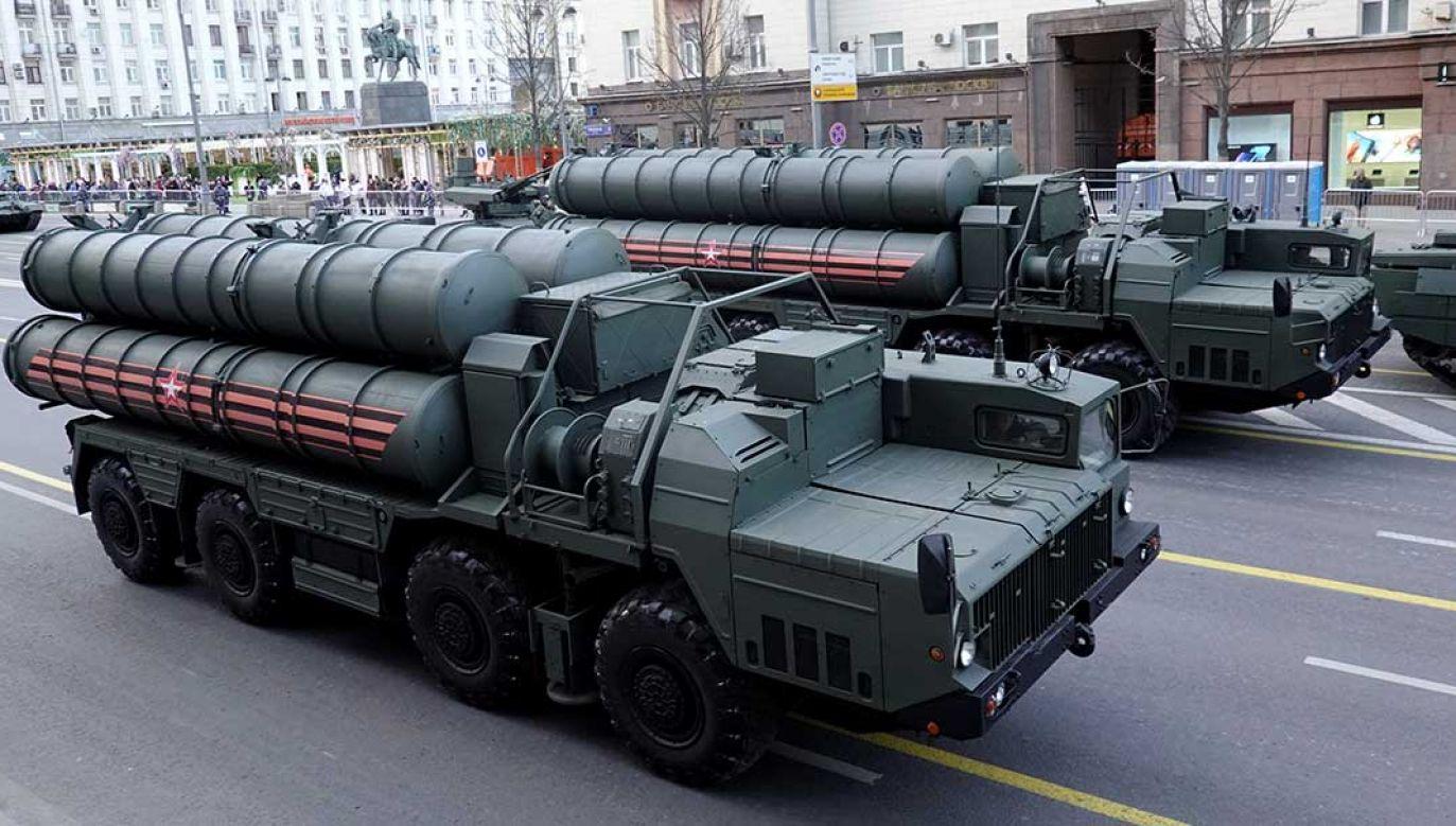 """""""Turcja kupiła S-400, zostanie on dostarczony i będzie stacjonował w Turcji"""" (fot. REUTERS/Tatyana Makeyeva)"""