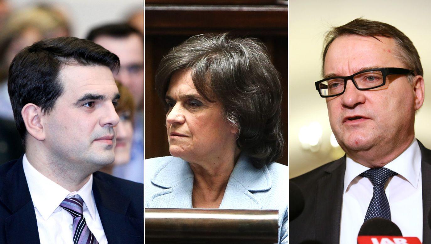 Troje posłów Platformy Obywatelskiej głosowało przeciwko proaborcyjnemu projektowi ustawy (fot. arch.PAP/Leszek Szymański/Rafał Guz/Marek Zakrzewski)